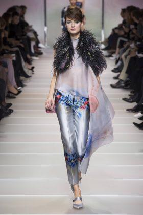 Daniela Aciu - Armani Privé Spring 2018 Couture