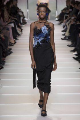 Maria Borges - Armani Privé Spring 2018 Couture