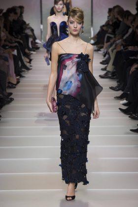 Susanne Knipper - Armani Privé Spring 2018 Couture