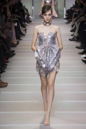 Michelle Gutknecht - Armani Privé Spring 2018 Couture