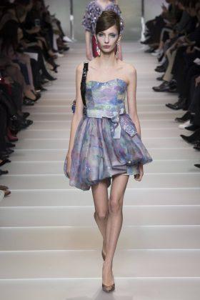 Carol Paes - Armani Privé Spring 2018 Couture