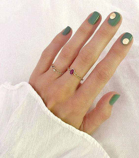 matcha green nail polish